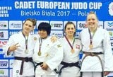 J.Kmieliauskaitė iškovojo Europos jaunių dziudo taurės varžybų bronzą