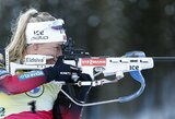 3 startai – 3 aukso medaliai: T.Eckhoff ir toliau nesustabdoma pasaulio biatlono čempionate