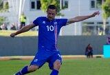 Islandai nugalėjo kroatus, italai sutriuškino Lichtenšteiną