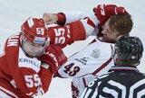 """Prieš pertrauką KHL pirmenybėse – apmaudus Rygos """"Dinamo"""" pralaimėjimas"""