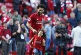 Pamatykite: M.Salah teko pasiaiškinti dukrai, kodėl jie į namus parsiveš dar vieną auksinį batelį