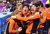 Neįtikėtina: B finale pasaulio rekordą pagerinusioms olandėms bronzą užtikrino dviejų komandų diskvalifikacijos (atnaujinta)