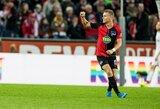 """""""Hertha"""" sutriuškino mažumoje likusius Vokietijos autsaiderius"""