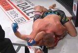 Buvusi WWE amerikietiškų imtynių žvaigždė pergalingai debiutavo MMA