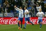 """Ispanijoje - rezultatyvios """"Malaga"""" ir """"Athletic Bilbao"""" komandų lygiosios"""