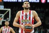 """""""Olympiacos"""" nuostoliai: K.Papanikolaou dėl patirtos traumos praleis sezono pradžią"""