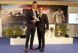 """Agentas: """"C.Ronaldo užbaigs karjerą """"Real"""" klube"""""""