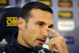 """Argentinos rinktinės strategas L.Scaloni: """"Į finalą turėjome patekti mes"""""""