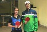 """Daugkartinė stalo teniso čempionė U.Baskutytė: """"Pirmosios pergalės – įsimintiniausios"""""""
