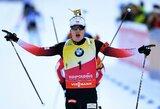 J.T.Boe laimėjo šeštas iš eilės pasaulio taurės lenktynes, N.Kočergina atsisakė startuoti