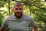 Lenko ritualas: prieš UFC kovą paliečia virvę, kuria pasikorė žmogus