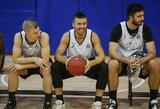 """""""Partizan"""" nekantrauja grįžti: leidimą gavę serbai treniruotes tęs lauke"""