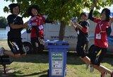 Rūšiuok linksmai arba kaip pasaulio jaunių irklavimo čempionato savanoriai rimtą problemą pavertė žaidimu