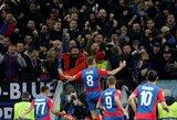 """Sensacija Čempionų lygoje: žaibiškas CSKA įvartis išvertė """"Real"""" iš kojų Maskvoje"""