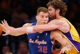 """""""Lakers"""" po septynerių metų pertraukos nesugebėjo parduoti visų bilietų į rungtynes"""