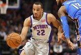 "Gera gynyba garsėjantis A.Bradley toliau vilkės ""Clippers"" marškinėlius"