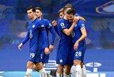 """Antras kartas nemelavo: T.Tuchelis su """"Chelsea"""" pasiekė pirmąją pergalę"""