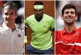 """""""Roland Garros"""" turnyre paaiškėjo visos ketvirtfinalio poros"""