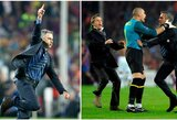 J.Mourinho: apie žinutę P.Guardiolai po Th.Mottos išvijimo ir Z.Ibrahimovičiaus pareiškimą rūbinėje