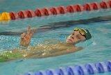 D.Rapšys, A.Šidlauskas ir D.Margevičius triumfavo Rumunijos plaukimo čempionate