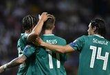 EURO2020: Vokietijos, Belgijos ir Italijos rinktinės šventė užtikrintas pergales