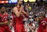 """NBA reitingas: į realybę sugrąžinti """"Raptors"""" ir raumenis rodančios Rytų vidutiniokės"""