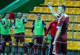 """Paskutinis mados klyksmas """"Futsal A lygoje"""" – įvarčiai 40-ąją minutę"""