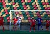 Lietuvos U-21 rinktinė su A lygos naujokais sužaidė lygiosiomis