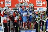 Lietuvos komanda pasaulio biatlono taurės etape Švedijoje buvo aplenkta ratu, nugalėjo rusai