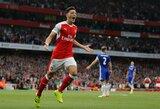 """Anglijos """"Premier"""" lyga: """"Arsenal"""" siekia intrigos, """"Chelsea"""" – keršto"""