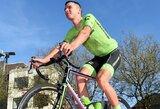 """R.Navardauskas po """"Tour de France"""" lenktynių: """"Smagu, kad kovėmės iki pat paskutinės dienos"""""""