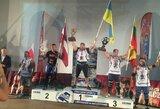 M.Brazauskas Europos galiūnų čempionate – trečias