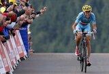 """Sudėtingame """"Tour de France"""" etape nugalėjęs V.Nibali tapo bendrosios įskaitos lyderiu"""