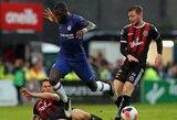 """F.Lampardo debiutas draugiškose rungtynėse: vėlyvą įvartį praleidusi """"Chelsea"""" susitikimą baigė lygiosiomis"""