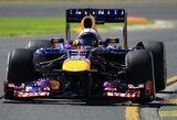 """Antrose Australijos Grand Prix treniruotėse greičiausi buvo """"Red Bull"""" lenktynininkai"""