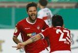 """Debiutinis L.Spalvio įvartis """"2.Bundesliga"""" pirmenybėse padovanojo pergalę """"Kaiserslautern"""" ekipai"""