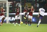 """J.Vargas suteikė dar daugiau vargo """"Milan"""" klubui, """"Juventus"""" ir """"Napoli"""" iškovojo pergales"""