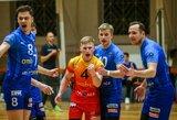 """""""Amber-Arlangos"""" tinklininkai pasispardė prieš Baltijos lygos reguliariojo sezono nugalėtojus"""