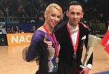 D.Vėželis ir L.Chatkevičiūtė tapo Europos vicečempionais