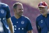 """""""Bayern"""" treneris H.Flickas apgynė reikalavimą įsigyti naujokų: """"Traumų situacija yra tikrai bloga"""""""