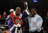 B.Hopkinsas šokiravo pasaulį: 48-erių metų boksininkas tapo vyriausiu visų laikų pasaulio čempionu