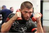 """Netikėtas posūkis: C.Nurmagomedovas parskrido į Rusiją, tėvas čia ir siūlo surengti """"UFC 249"""" turnyrą"""