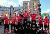V.Blekaitis Europos galiūnų taurės varžybose iškovojo antrą vietą