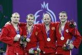 Europos žaidynių medalių įskaitoje rusų persvara dar labiau išaugo, lietuviai prarado vieną poziciją