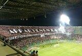 """Pamatykite: ketvirtoje Italijos lygoje atgijęs """"Palermo"""" klubas sulaukė galingo sirgalių palaikymo"""