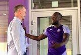 """""""Manchester United"""" palikti norintis R.Lukaku treniruojasi Belgijoje"""