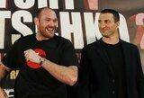 Pagaliau susitarė: T.Fury treneris paskelbė antrosios kovos su V.Kličko datą