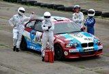"""""""Kas tas Blue Sheep?"""" merginos lenktynėse išbandė 1000 km lenktynėms galutinai paruoštą BMW M3"""
