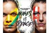 """""""UFC 250"""" pristatymas ir prognozės: ar aiški autsaiderė gali įveikti geriausią visų laikų moterų MMA kovotoją?"""
