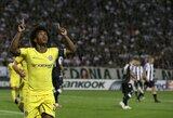 """Europos lyga: """"Chelsea"""" švaistė progas, bet laimėjo Graikijoje, """"Marseille"""" pralaimėjo prieš mažiau žaidėjų turėjusius """"Eintracht"""""""